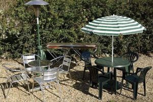 outdoor table hire