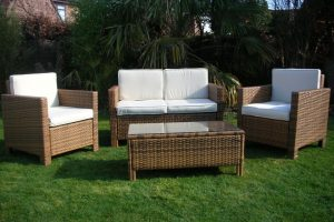 Light Brown Rattan Furniture