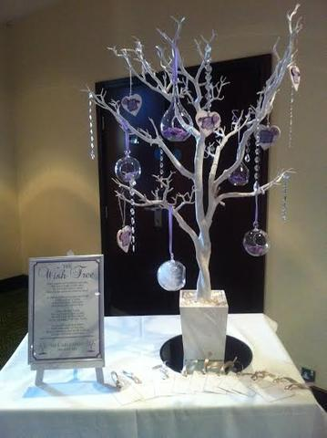 Table centrepieces hire bybrook hire for Black table centrepieces