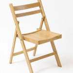 Wooden Folding Back Chair