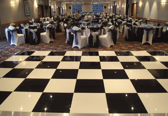 Black and White Dancefloor