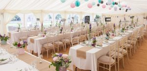 Marquee Wedding Decorations Town Names