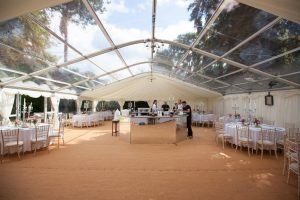 Interior Marquee with Bar