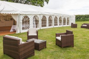 Marquee & outdoor Furniture Hire