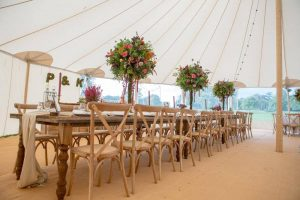 Wooden Tables & Chairs For Hire