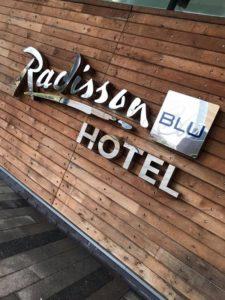 Radisson Blue Signage