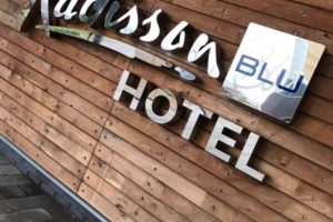 Radisson Blue Signage