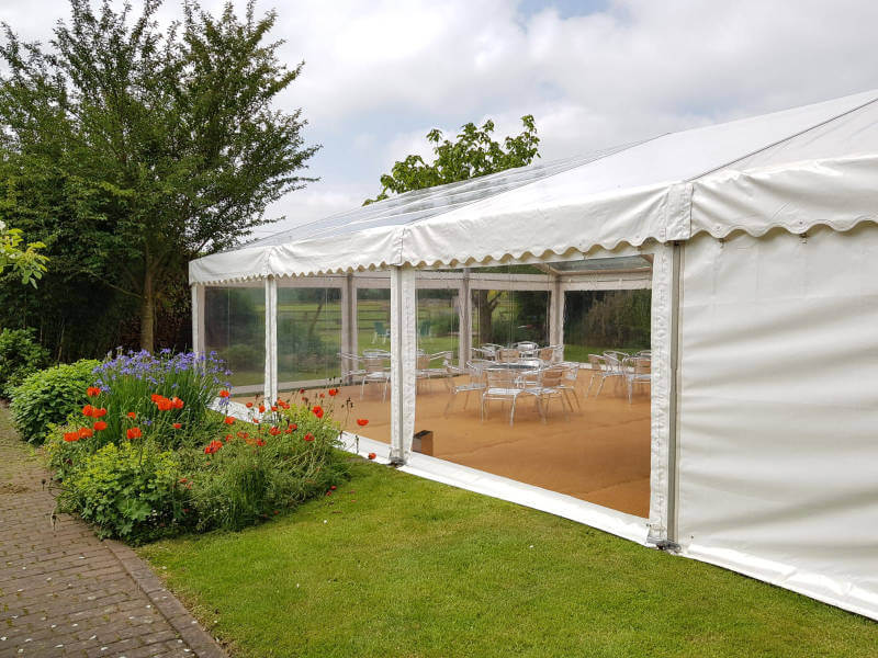 Outside Clear Span Marquee