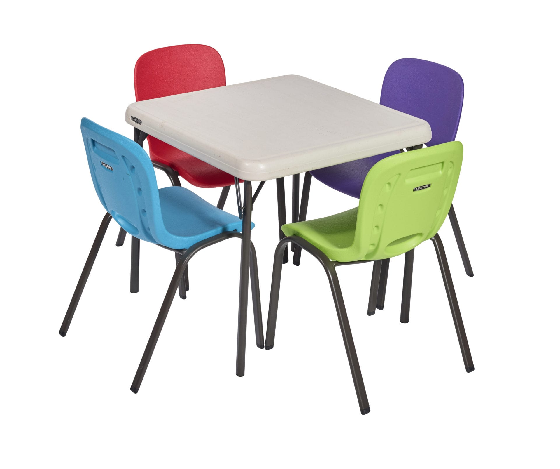 Childs plastic chair assorted colours £1 50