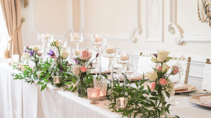 Floating Candle Centre Pieces